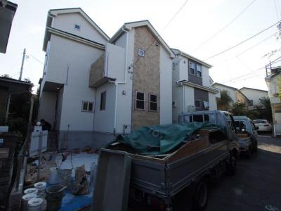 【外観】保土ヶ谷区桜ヶ丘1丁目全2棟  新築戸建て