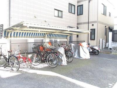 ☆敷地内駐輪場があるので駅から自転車もオススメ♪