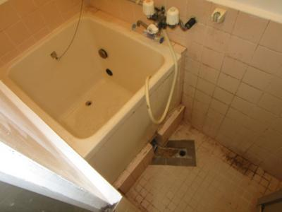 【浴室】コーポタカハシA