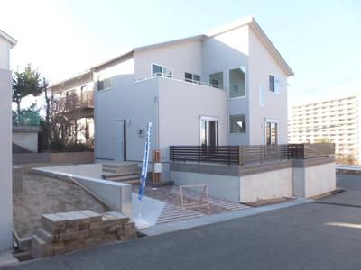 【外観】鳴子1丁目 新築戸建(モデルハウス)