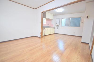 【居間・リビング】福島マンション