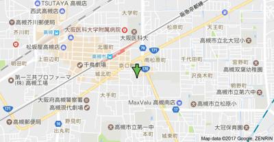 【地図】アンフィニィ京口 (株)Roots