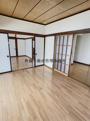 家具を置いても余裕のある大きなお部屋です!