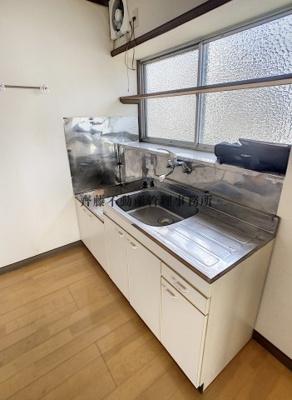 ガスコンロが設置可能なキッチンです!