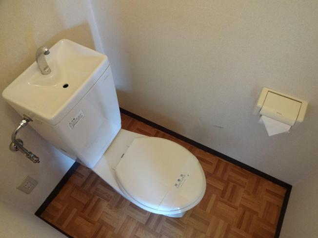 アパート京屋 トイレ