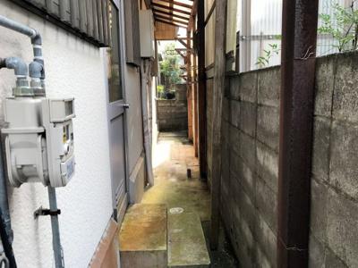 【外観】柏原駅裏中古住宅