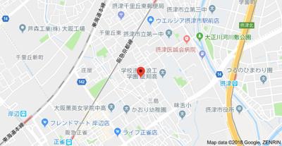 【地図】ファインアベニュー