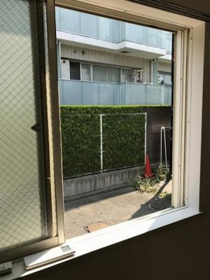 窓から見える景色です