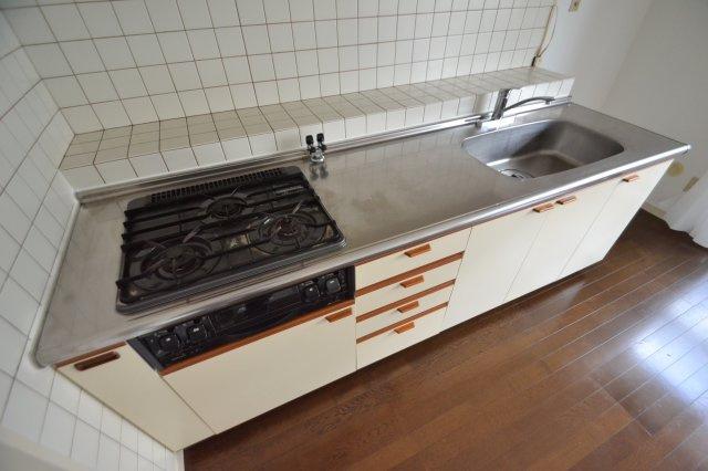 【キッチン】ライオンズマンション六甲口