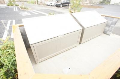 敷地内専用ゴミ置き場