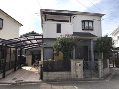 【外観】堺市北区蔵前町 一戸建