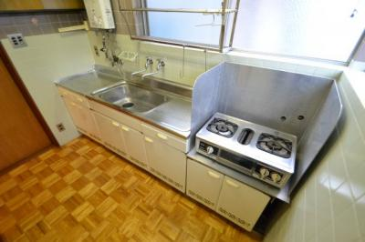 【キッチン】クヌギハイツ
