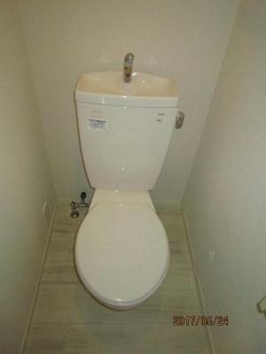 セブンスKのトイレ