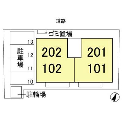 【区画図】メゾンド・フォレ