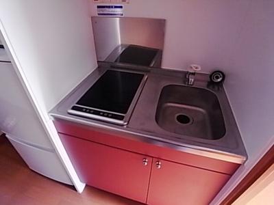 【キッチン】レオパレスヴィルドミール
