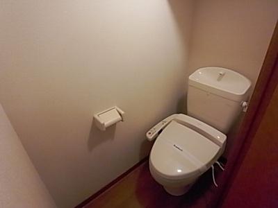 【トイレ】レオパレスヴィルドミール