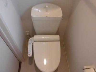 メゾネット稲毛台のトイレ