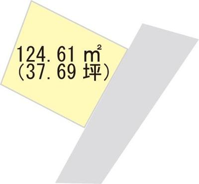 【区画図】【売地】初島中学校区・120199