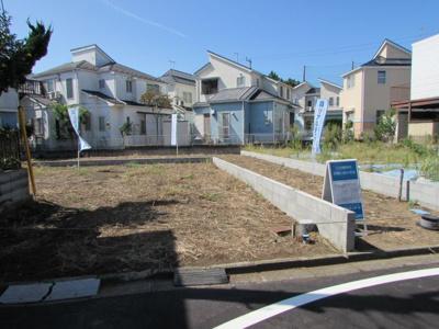 【外観】茅ヶ崎市浜須賀 全2区画 建築条件なし売地