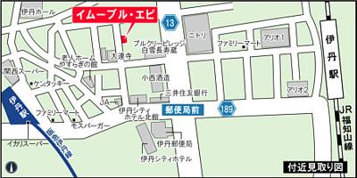 【地図】イムーブル エピ