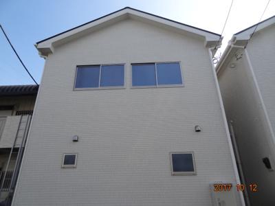 【外観】さいたま市北区吉野町1丁目 現地見学会新築2棟・南道路