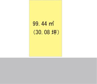 【区画図】【売地】伏虎義務教育学校区・29922