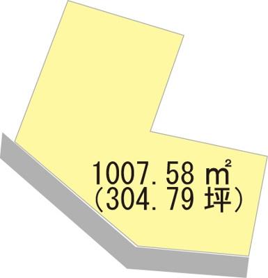 【区画図】【売地】西浜中学校区・29841