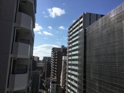 【展望】キングマンション江戸堀