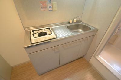【キッチン】ハイツ六甲エイト