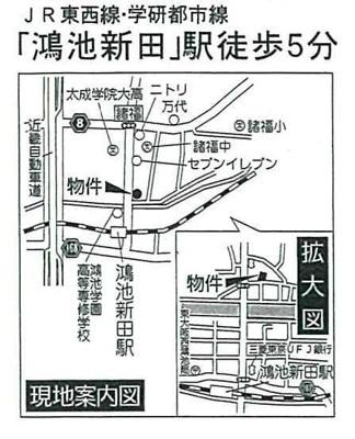 【地図】大東市諸福5丁目  第1