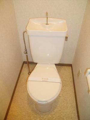 ラフィネ西都賀のトイレ