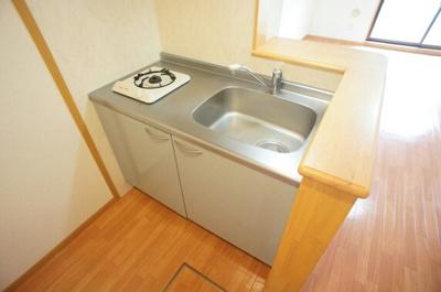 【キッチン】ホワイト ウッド