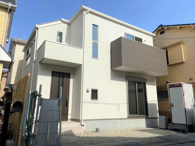 諏訪森町東に新築完成しています