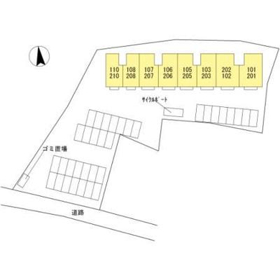 【区画図】プレミアム弐番館