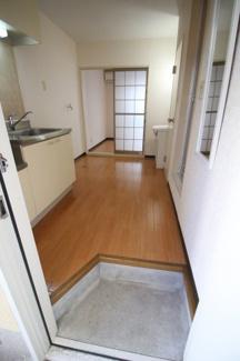 【玄関】フレグランス六甲道