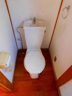 【トイレ】拾六間貸家