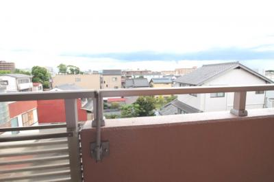 バルコニーからの眺望です♪