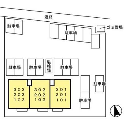 【区画図】チェリーブラッサム