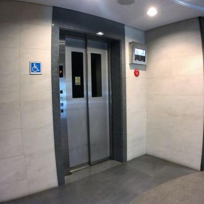 生活に必須のエレベーター付きです。