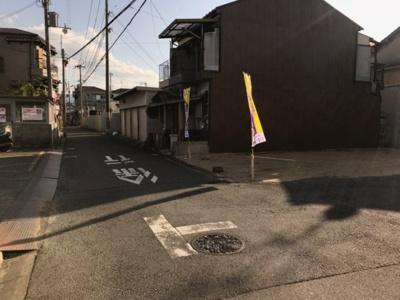 【前面道路含む現地写真】グラッド・タウン三箇5丁目