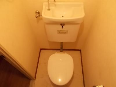 【トイレ】豊月マンション