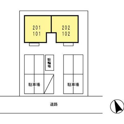 【区画図】セジュール ソシア