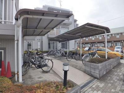バイク駐輪も相談可能です!お気軽にご相談ください★(有料/要確認)