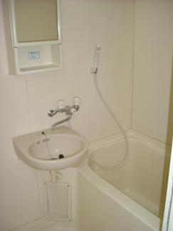 【浴室】ブルーム大島
