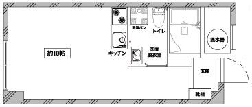 【洋室】麻布エンパイアマンション