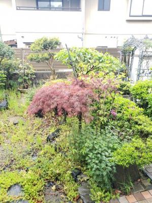 【庭】鳥取市若葉台南6丁目二世帯住宅