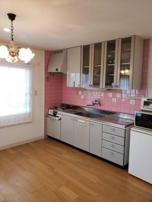 【キッチン】鳥取市若葉台南6丁目二世帯住宅