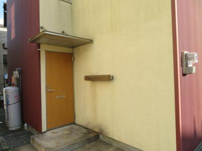 【玄関】ユニキューブ