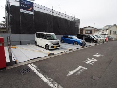 敷地内駐車場100%です。