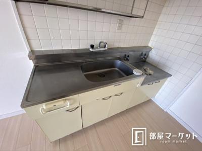 【キッチン】パープルマンション